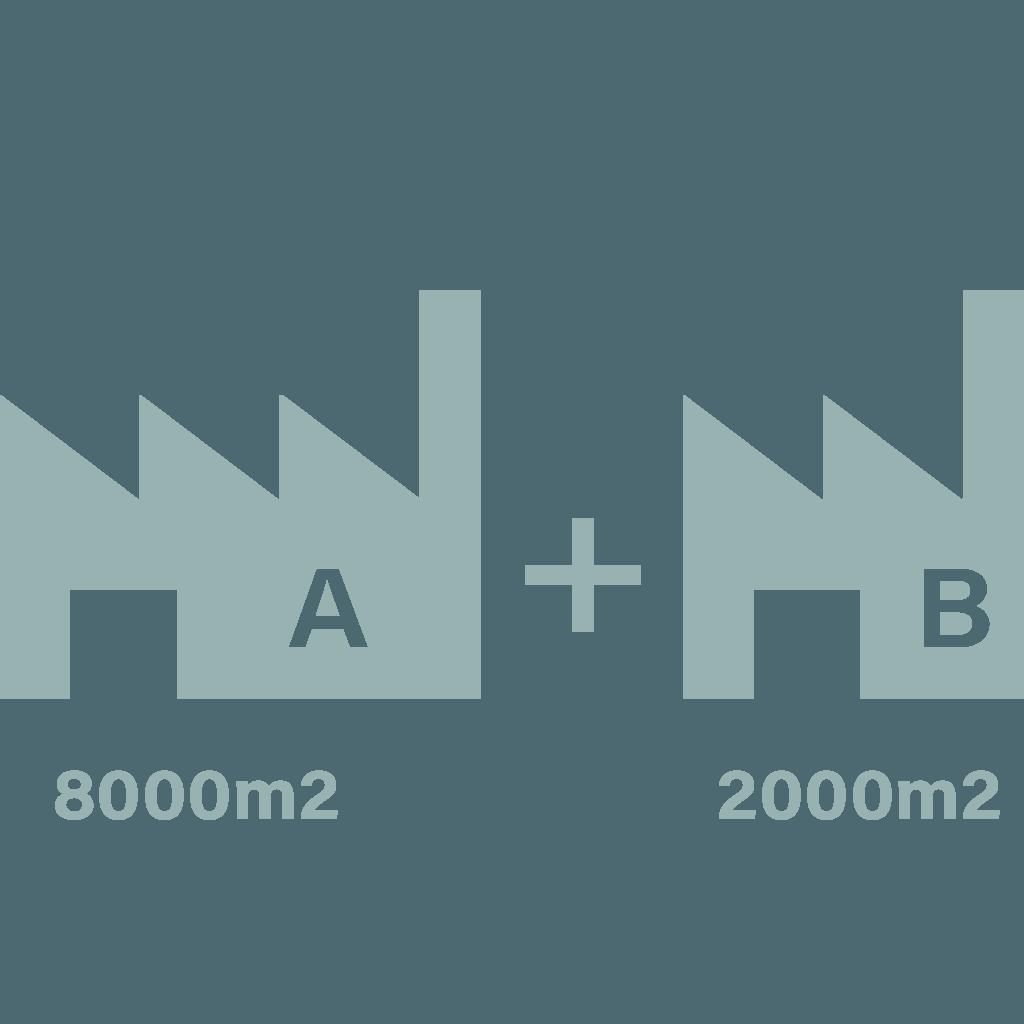 Deux bâtiments